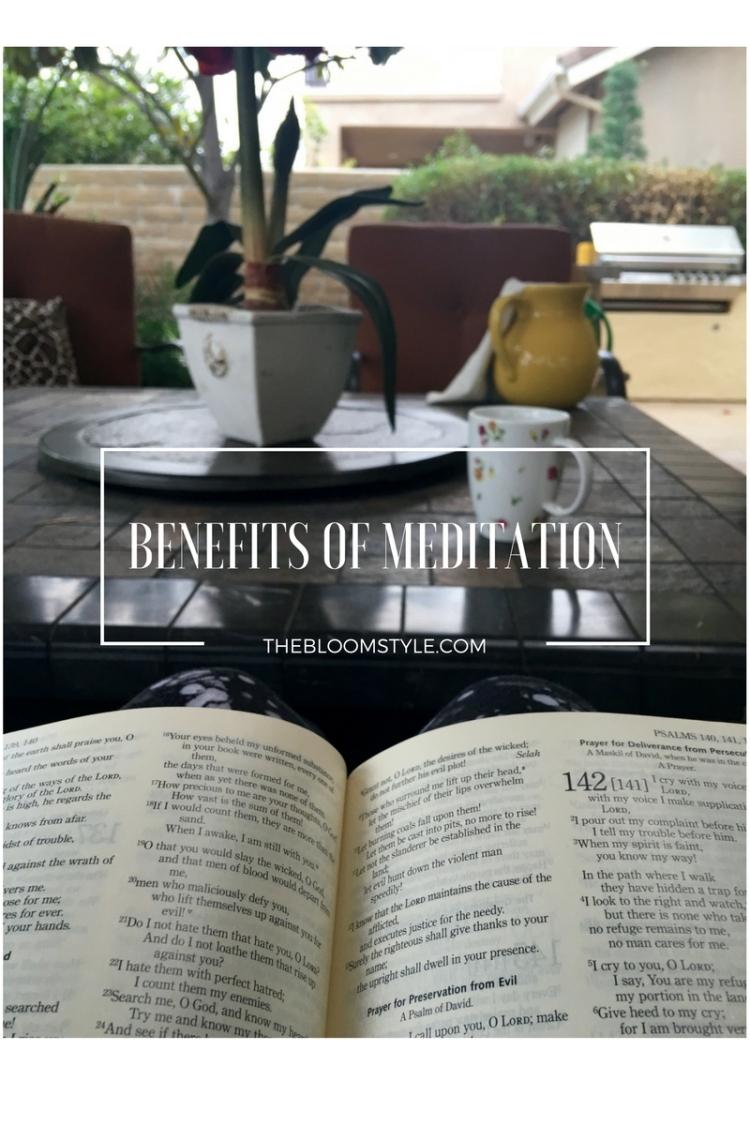 BENEFITS OF MEDITATION (1)
