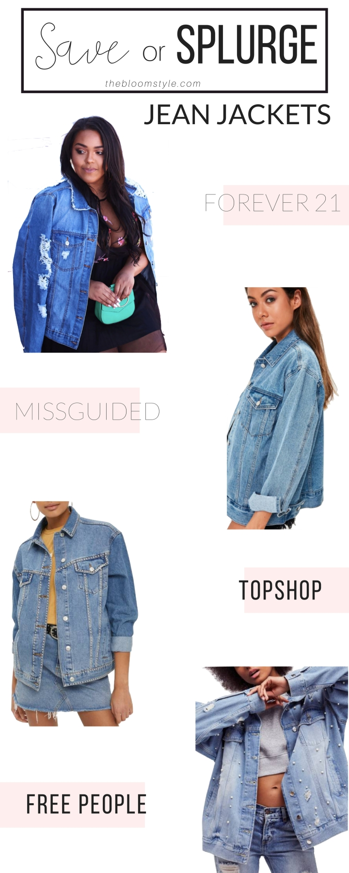 Save or Splurge: Jean Jackets