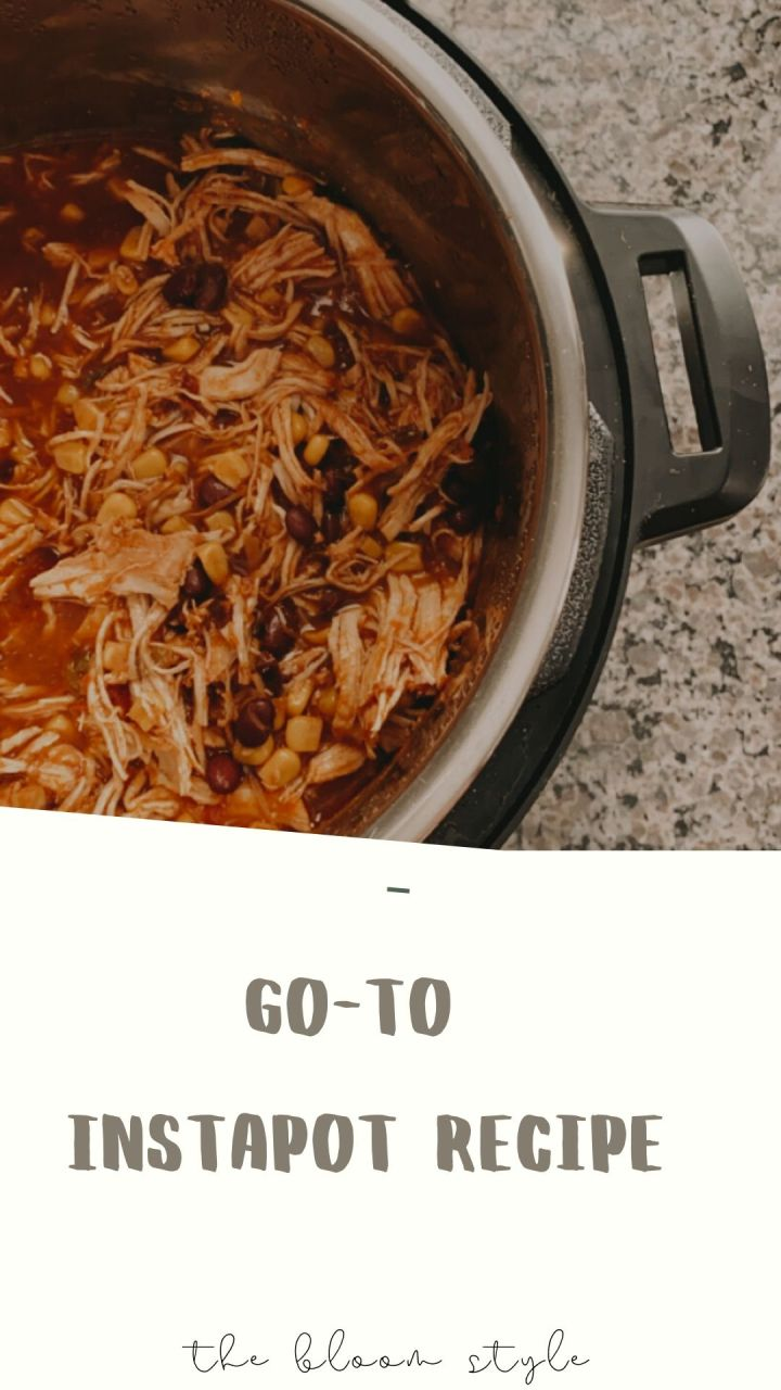 Go-to Instapot Recipe